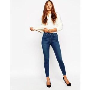 ASOS - Ridley - Knöchellange Skinny-Jeans in Mahagony-Waschung - Mahagonie-Waschung