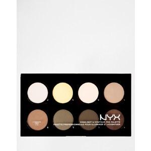 NYX - Pro - Palette contour et éclat - Multi
