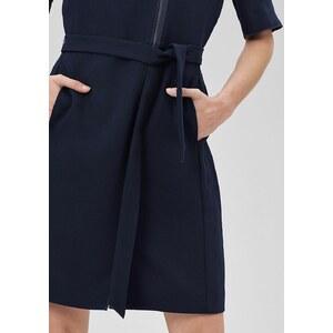 s.Oliver PREMIUM Zipper-Kleid mit Bindegürtel
