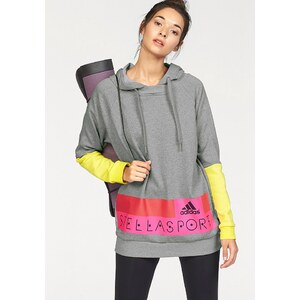 adidas Performance STELLASPORT LONG HOODY Kapuzensweatshirt