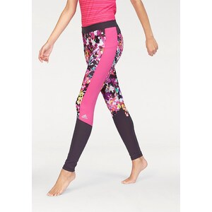 adidas Performance TECHFIT LONG TIGHT FLORAL PRINT Funktionstights