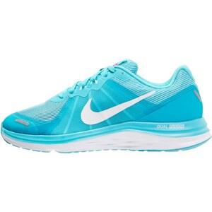 Nike Performance DUAL FUSION X 2 Laufschuh Neutral gamma blue/white/reflect silver