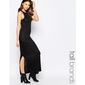 Vero Moda Tall - Robe longue - Noir