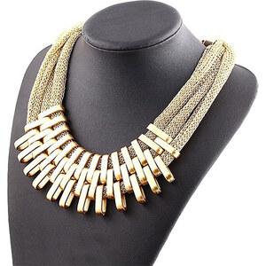 Lesara Statement-Halskette - Gold