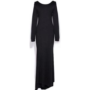 Lesara Rückenfreies Abendkleid - Schwarz - L