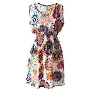 Lesara Ärmelloses Kleid - Gelb - S