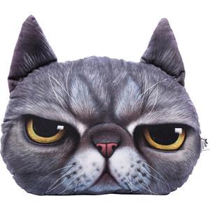 Lesara Deko-Kissen im Katzen-Design - mürrisch
