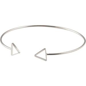 Lesara Armreif Triangel - Silber