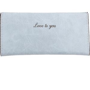 Lesara Geldbörse Love to you - Blau