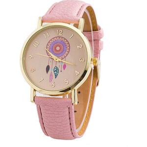 Lesara Armbanduhr mit Traumfänger-Motiv - Pink
