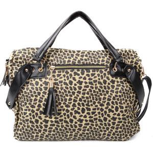 Lesara Handtasche mit Pailletten-Details - Braun