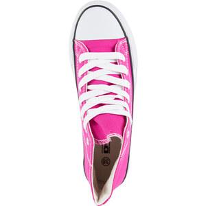 Lesara Klassischer High Top-Sneaker - Pink - 36