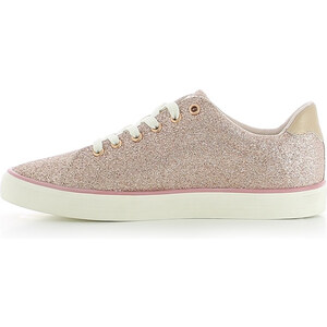 Lesara Sneaker in Glitzer-Optik - Pink - 40