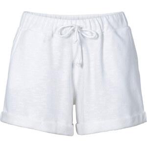 RAINBOW Sweatshorts in weiß für Damen von bonprix