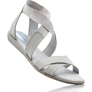 Sandales gris chaussures & accessoires - bonprix