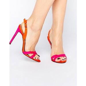 ASOS - HATTER - Sandalen mit Absatz - Rosa
