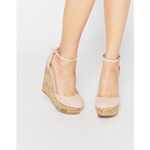 ASOS - OVAL - Chaussures compensées - Beige