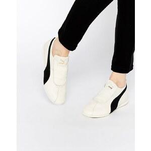 Puma - Eskiva - Flache Sneakers in Weiß - Weiß