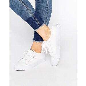 Vans - Sneakers aus weißem Leder - Echtweiß
