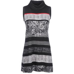 Bexleys Woman, ausdrucksstarkes Shirt, Schwarz/Weiß, Größe XXL
