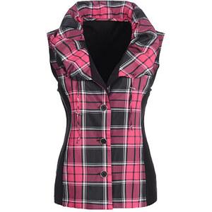 Bexleys Woman, Weste, pink-schwarz, Größe 50
