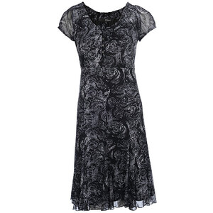 My Own, Kleid, 1/2 Arm, Schwarz/Weiß, Größe 36