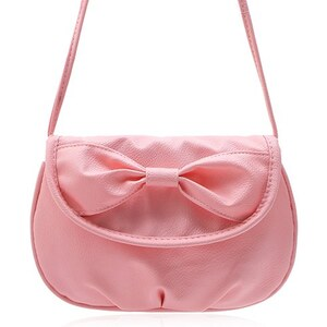 sammydress Cute Women's Crossbody Bag With Candy Color and Bow Design