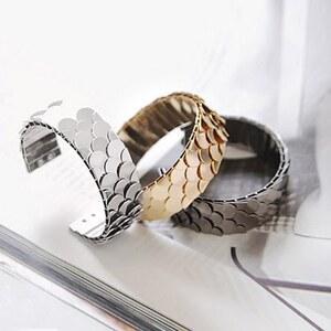 sammydress Fashion Europe Style Fish Scale Embellished Ringent Bracelet
