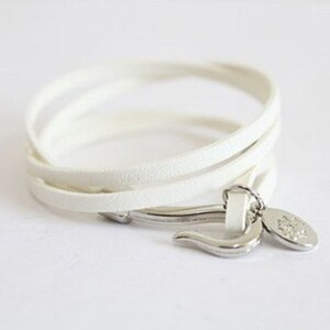 sammydress Fashionable Muti-layered and Round Shape Plate Leather Bracelet