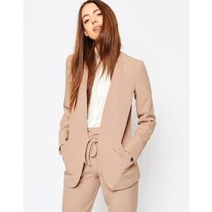ASOS - Luxueux blazer de smoking épuré avec cravate - Beige