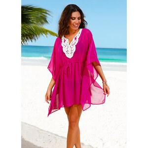 bpc selection Tunique de plage fuchsia maillots de bain - bonprix