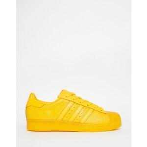 Adidas Originals - Superstar Super Colour - Baskets - Jaune - Jaune