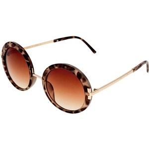 Topshop LAKOTA 60´S Sonnenbrille brown