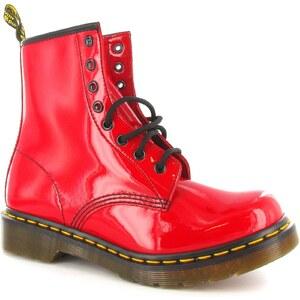 Dr Martens Doris - Boots - en cuir rouge