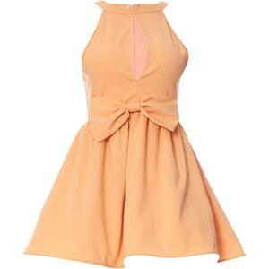 LPC Kleid mit kurzem Schnitt - pfirsichfarben