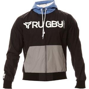 Rugby Division Brand - Coupe-vent - noir et bleu