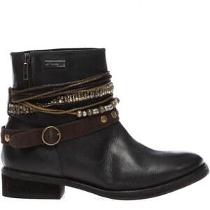 Les Tropéziennes par M Belarbi Ladiana - Boots - en cuir noir