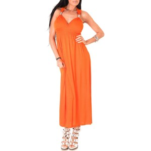 Toutes les robes Robe longue - orange