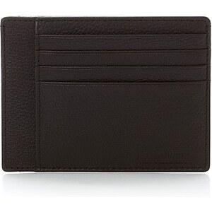 Le Tanneur Porte papiers 3 poches - marron