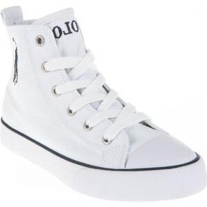 Ralph Lauren Kids High Sneakers - weiß