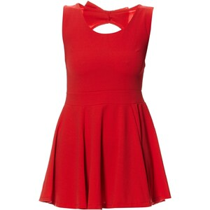 Le dressing d'Alisson Robe courte - rouge