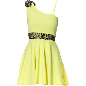 Le dressing d'Alisson Robe courte - jaune