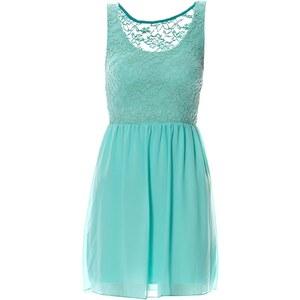 Soho Boulevard Kleid mit kurzem Schnitt - grün