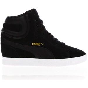 Puma Vikky - Baskets compensées - noires