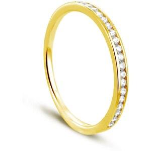 Tous mes bijoux Duos - Bague en or jaune sertie de diamants - or
