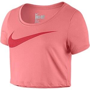 Nike Swoosh Crop Top - Top - rosa