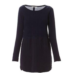 Only Kleid mit kurzem Schnitt - blau
