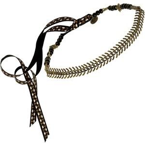 Secrets de Cailloux Camélia - Headband - Agate noire
