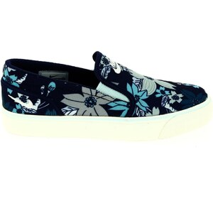 Nike Toki Slip print - Slip-on - bleu floral