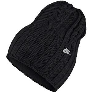 Nike NSW W'S CABLE KNIT BEANIE - Bonnet - noir